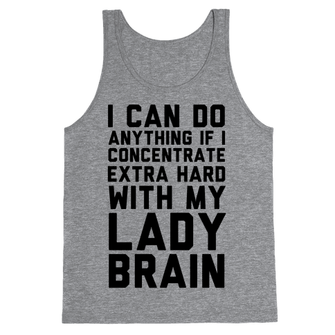 Lady Brain Tank Top