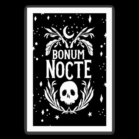 Bonum Nocte Poster