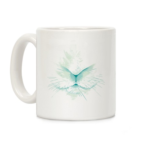 Snow Rabbit (Blue) Coffee Mug