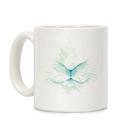 Snow Rabbit (Blue) Coffee Mug