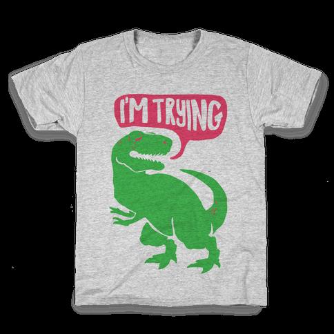 Hug Me Dinosaur (Part Two) Kids T-Shirt