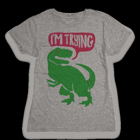 Hug Me Dinosaur (Part Two) Womens T-Shirt
