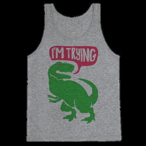 Hug Me Dinosaur (Part Two) Tank Top