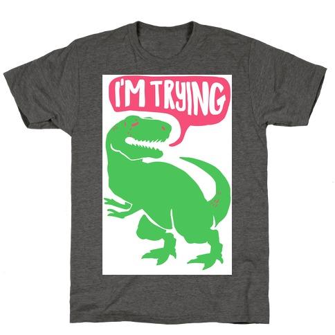 552e31f67c17 Hug Me Dinosaur (Part Two) T-Shirt   LookHUMAN