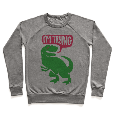 Hug Me Dinosaur (Part Two) Pullover