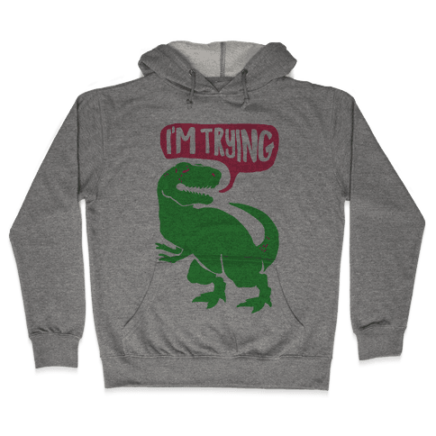 Hug Me Dinosaur (Part Two) Hooded Sweatshirt