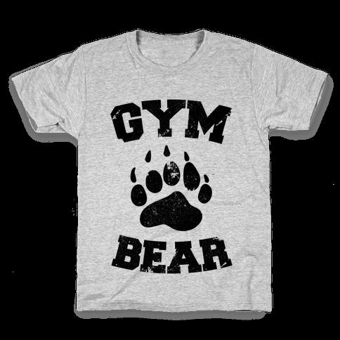 Gym Bear Kids T-Shirt