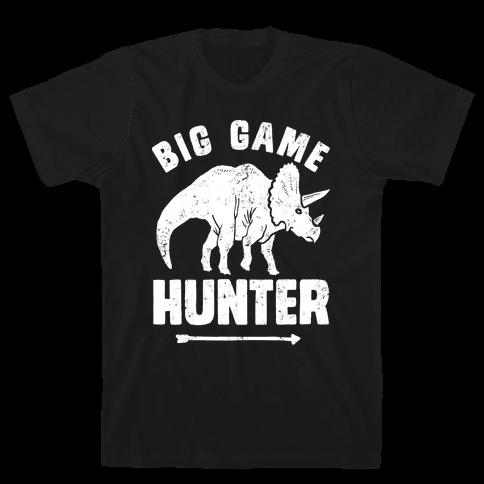Big Game Hunter Mens T-Shirt