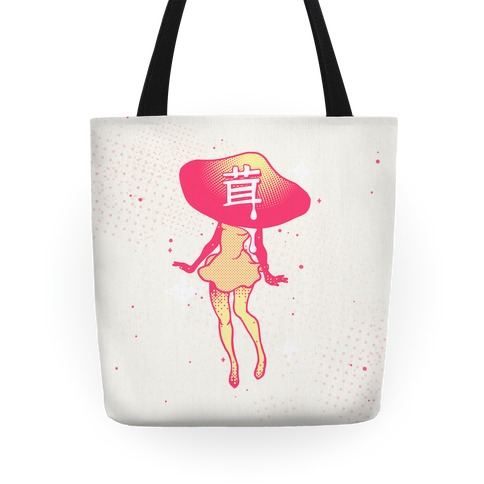 Mushroom Girl Tote