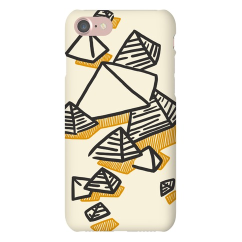 Geometric Pyramids Phone Case