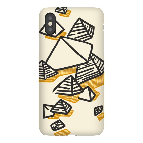 Geometric Pyramids Phone Case