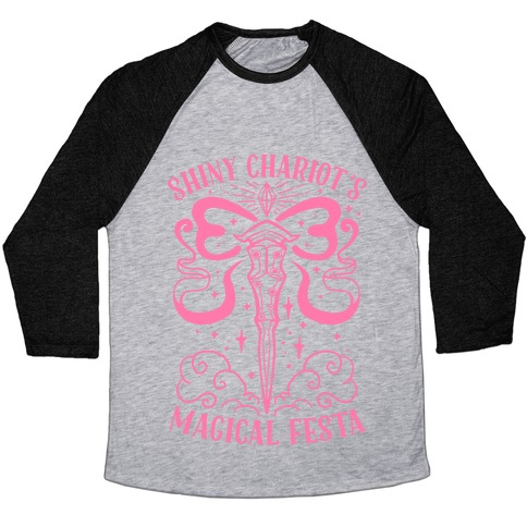 Shiny Chariot's Magical Festa Baseball Tee