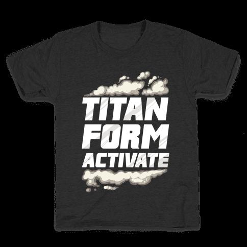 Titan Form Activate Kids T-Shirt