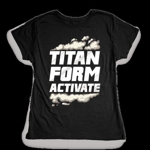 Titan Form Activate Womens T-Shirt
