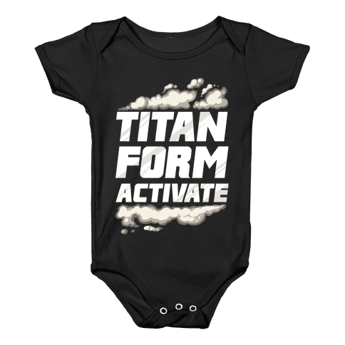 Titan Form Activate Baby Onesy