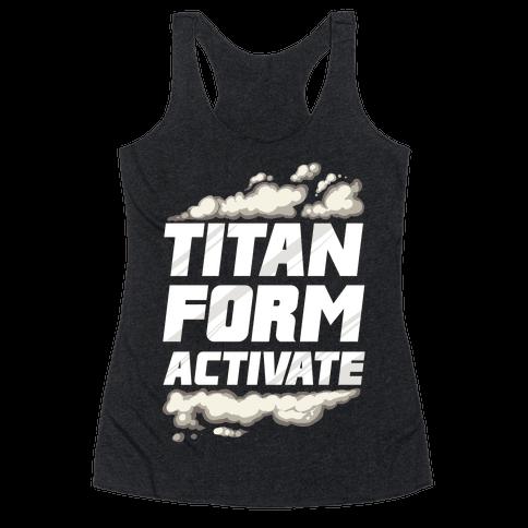 Titan Form Activate Racerback Tank Top