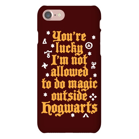 Outside Hogwarts Phone Case