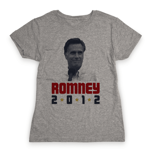 Romney for President! Womens T-Shirt