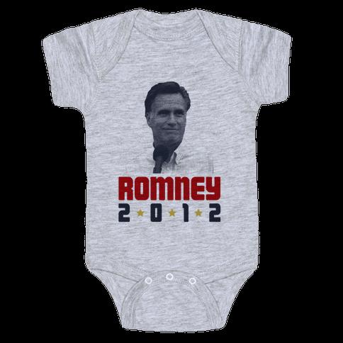 Romney for President! Baby Onesy