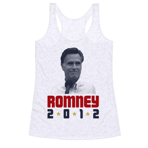 Romney for President! Racerback Tank Top