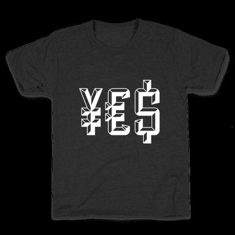 Yes Money Kids T-Shirt
