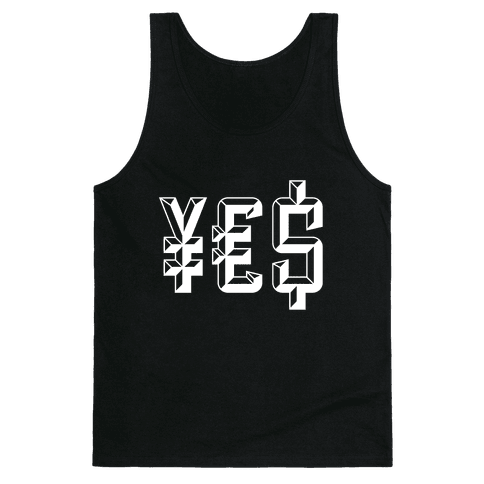 Yes Money Tank Top