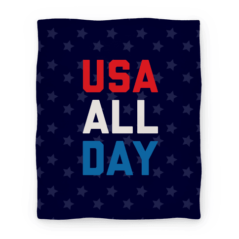 USA All Day Blanket