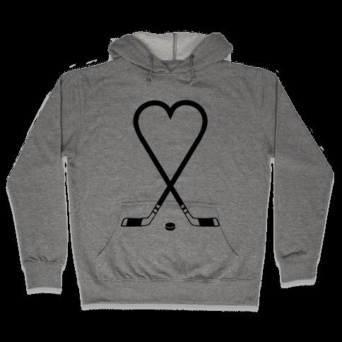 Hockey Love Hooded Sweatshirt