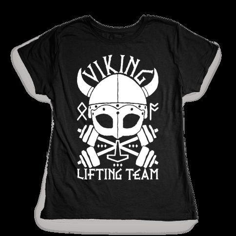 Viking Lifting Team Womens T-Shirt