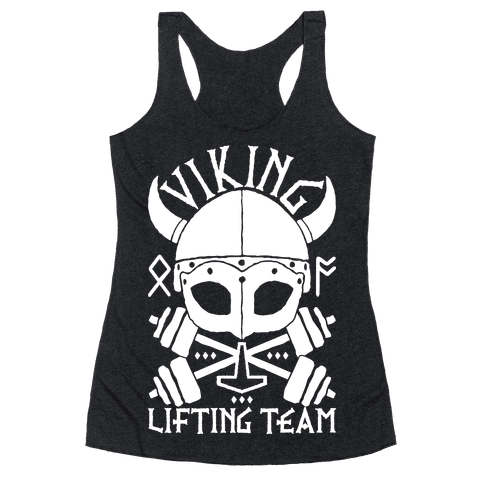 Viking Lifting Team Racerback Tank Top
