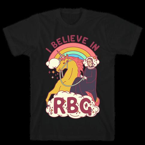 I Believe in RBG Mens T-Shirt
