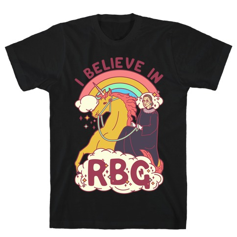 I Believe in RBG Mens T-Shirt