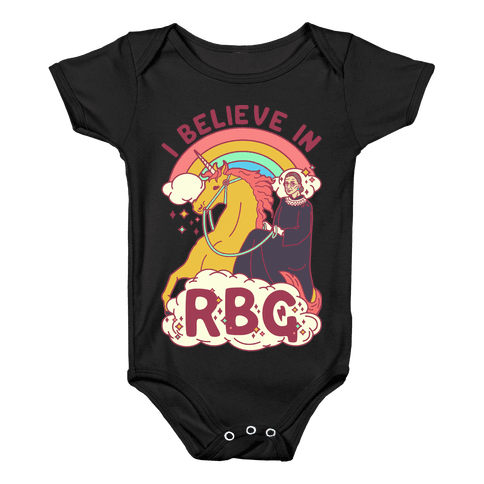I Believe in RBG Baby Onesy