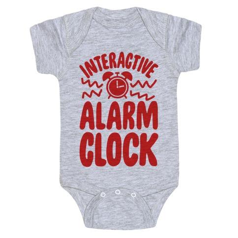 Interactive Alarm Clock Baby Onesy
