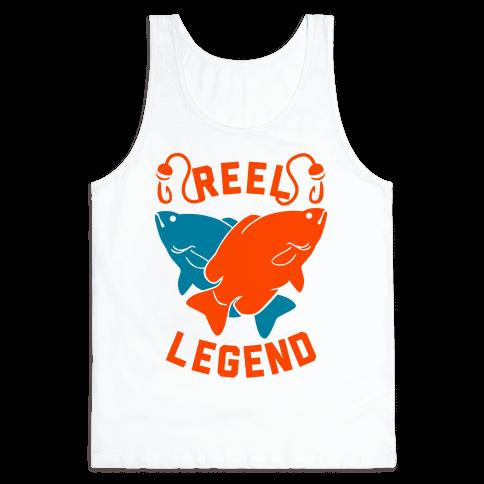 Reel Legend (Color) Tank Top