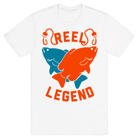 Reel Legend (Color) Mens T-Shirt