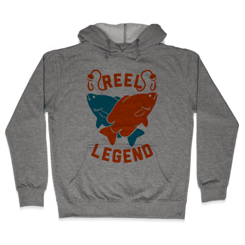 Reel Legend (Color) Hooded Sweatshirt