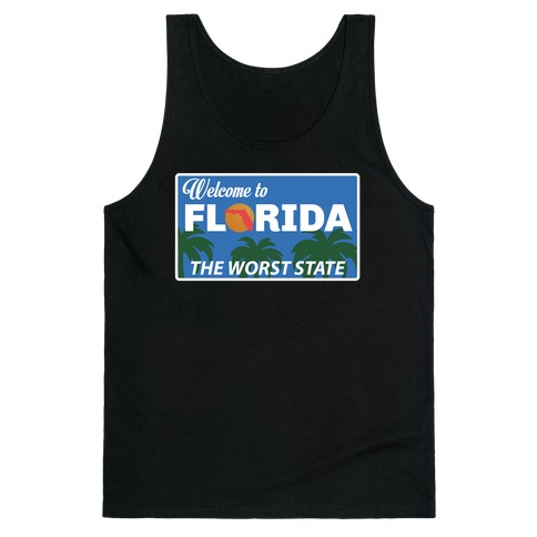 The Worst State Tank Top