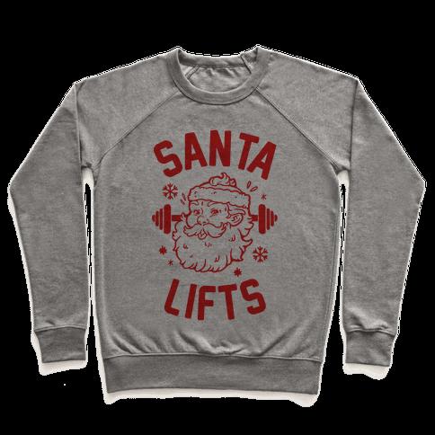 Santa Lifts Pullover