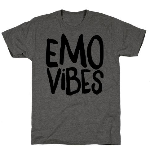 Emo Vibes Mens/Unisex T-Shirt