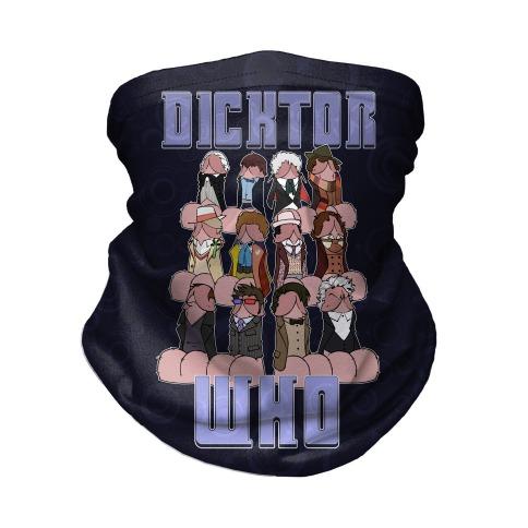 Dicktor Who Neck Gaiter