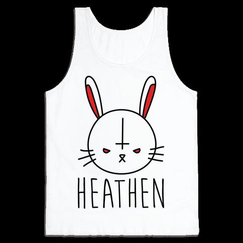 Heathen Easter Bunny Tank Top
