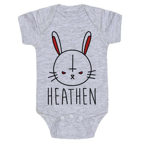 d4b8cf480 Heathen Easter Bunny Baby One-Piece | LookHUMAN