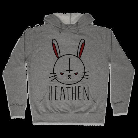 Heathen Easter Bunny Hooded Sweatshirt