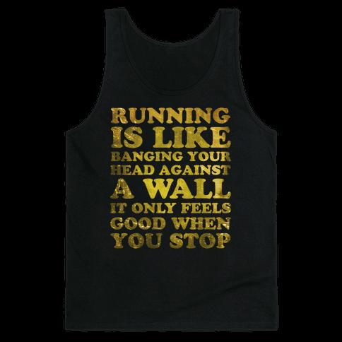 Running Is Tank Top