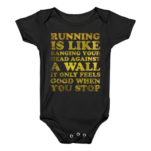 Running Is Baby Onesy