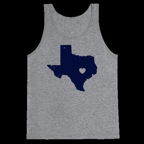 The Heart of Texas Tank Top