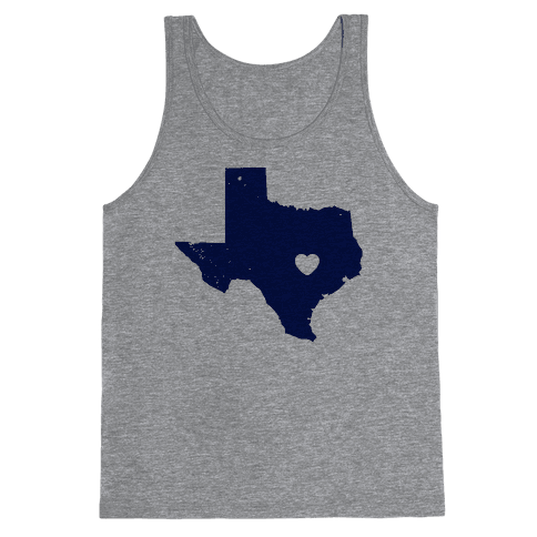 The Heart of Texas Tank Top