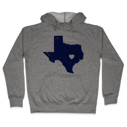 The Heart of Texas Hooded Sweatshirt