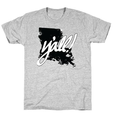 Y'all! (Louisiana) Mens T-Shirt